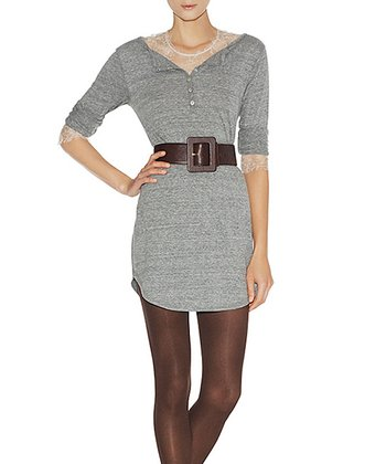 Heather Gray Maggie Henley Dress