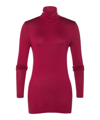 Red Newbury Turtleneck - Women