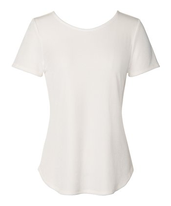Ivory Larkin Velvet Top - Women