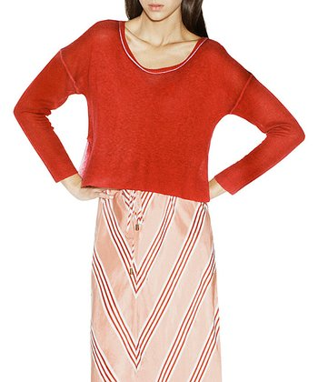 Red Bank Cashmere Sweater - Women
