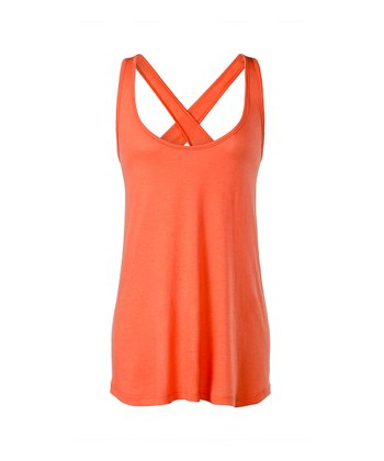 Shell Shock Harlow Cross-Back Tank - Women