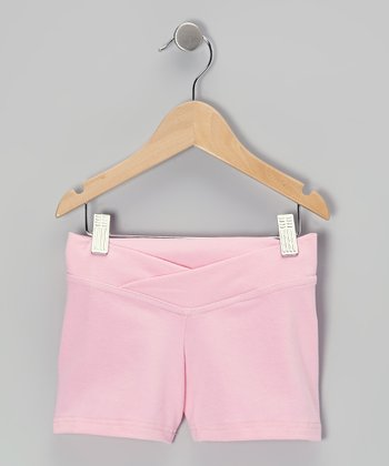 Pink Dance Shorts - Toddler & Girls