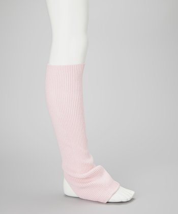 Light Pink Leg Warmers