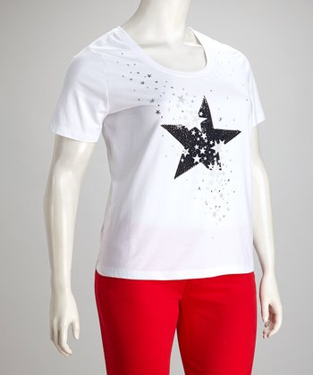 White Star Tee - Plus