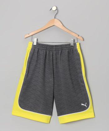 Pewter Shorts - Toddler