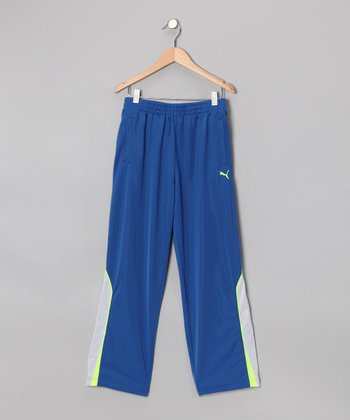 Competition Blue Slanted Pants - Boys