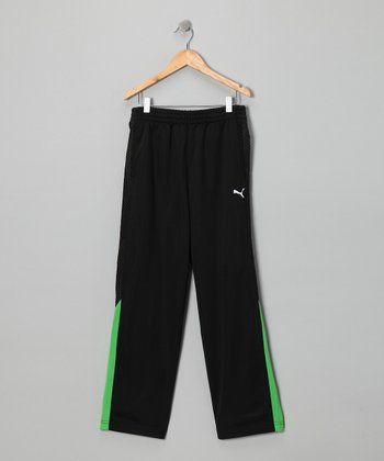 Black Performance Pants - Toddler & Boys