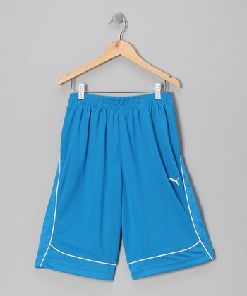 Blue Aster Active Shorts - Toddler & Boys