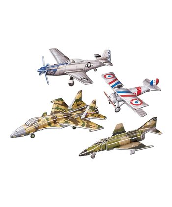 Fighter Jets 3-D Puzzle Set