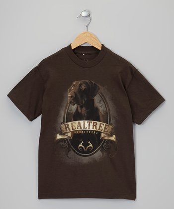 Dark Chocolate Labrador Tee - Boys