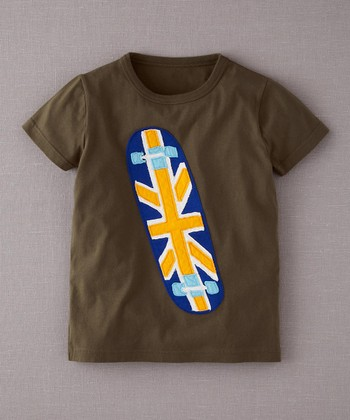 Khaki Skateboard Tee - Toddler & Boys