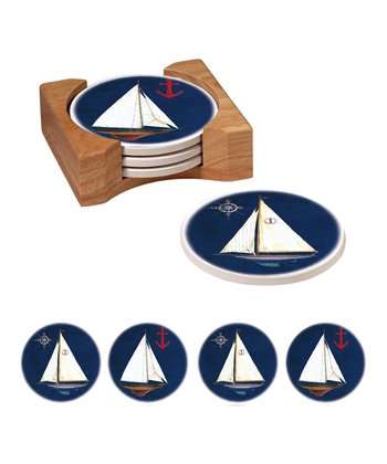 Sail Away Coaster Set