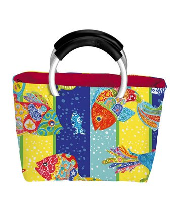 Funky Fish Insulated Lunch Bag