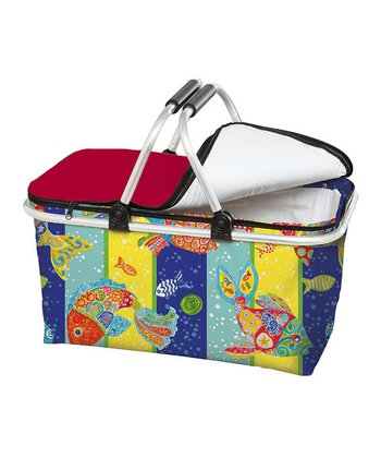 Funky Fish Insulated Picnic Basket