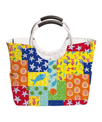 Funky Fish Insulated Lunch Tote