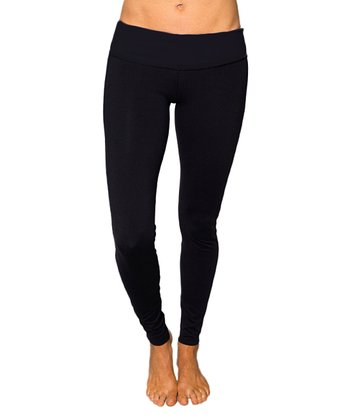 Raven Black Leo Leggings
