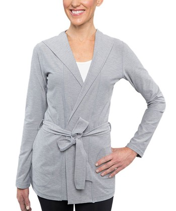 Heather Gray Celestial Cardigan