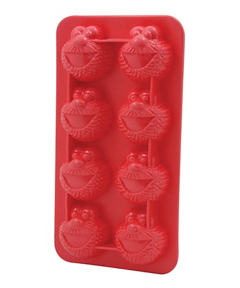 Red Elmo Ice Cube Tray