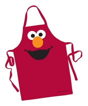 Red Elmo Big Face Apron