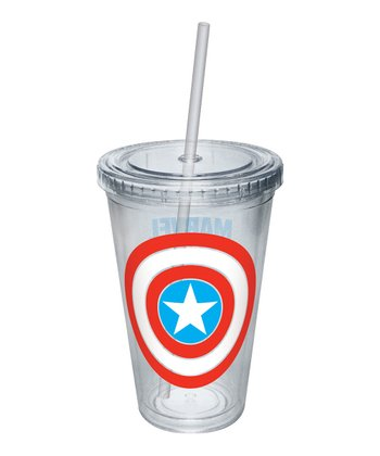 Captain America Shield Tumbler