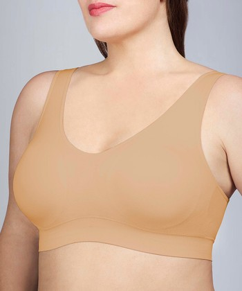 Toasted Almond Seamless Comfort Bra - Women