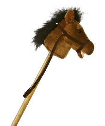 Light Brown Stick Pony Ride-On