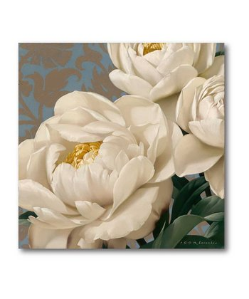 Dolce Peonia Canvas Wall Art
