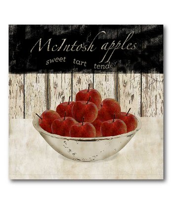 'McIntosh Apples' Canvas Wall Art