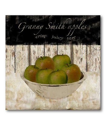 'Granny Smith Apples' Canvas Wall Art