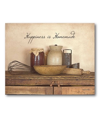 'Happiness is Homemade' Canvas Wall Art