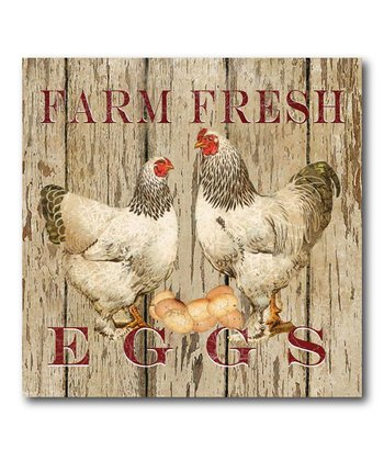 'Farm Fresh' Canvas Wall Art