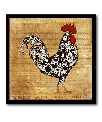Rooster Canvas Wall Art