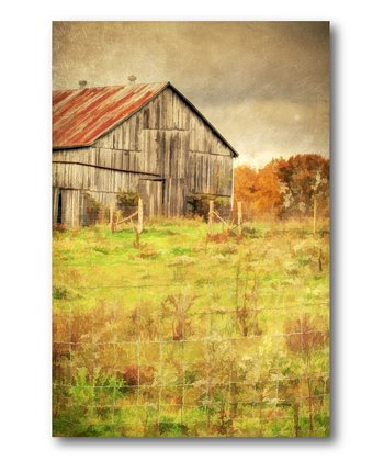 The Barn Canvas Wall Art