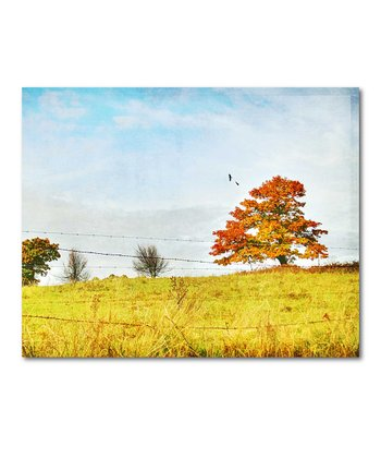 The Fall Trees III Canvas Wall Art