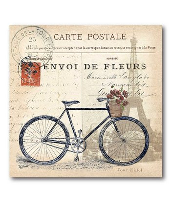 Classic Bicycle Canvas Wall Art