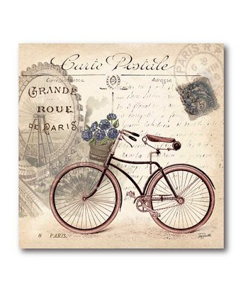 Classic Bicycle II Canvas Wall Art