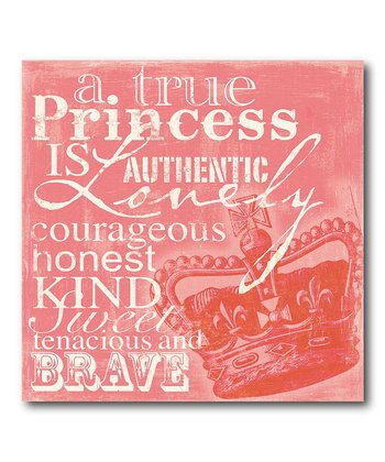 'True Princess' Wall Art