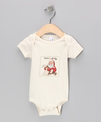Natural 'Better Be Good' Organic Bodysuit - Infant