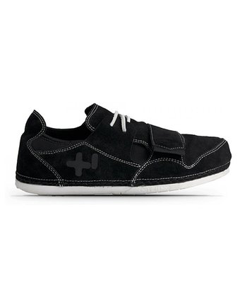 Black & White Primo Suede Shoe