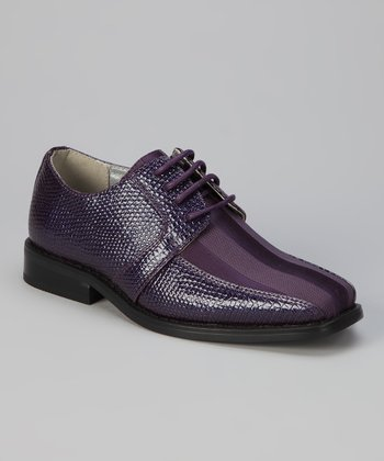 Purple Viotti Dress Shoe