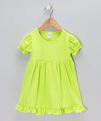 Light Green Dress - Toddler & Girls