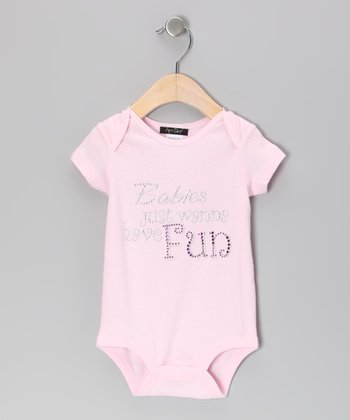 Pink 'Babies Just Wanna Have Fun' Bodysuit