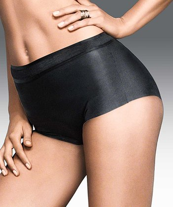 Black Weightless Comfort Shaper Briefs