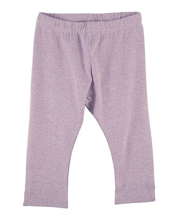 Lilac Organic Leggings - Infant, Toddler & Girls