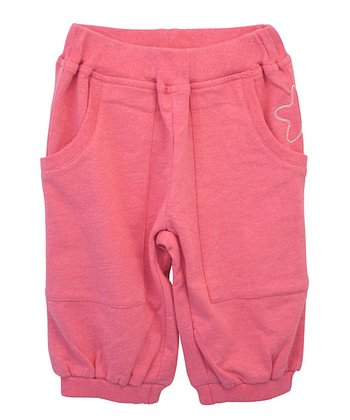 Berry Star Pocket Organic Sweatpants - Infant, Toddler & Girls