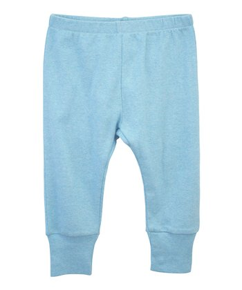 Aqua Cuffed Organic Pants - Infant, Toddler & Boys