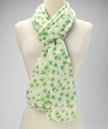 Green Star Scarf