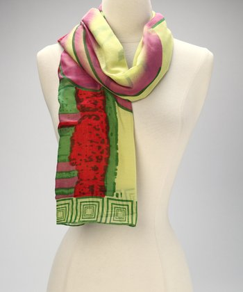 Green Windy City Scarf