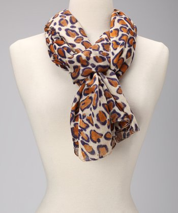 Brown Spot Scarf