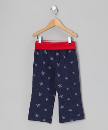 Denim Star Yoga Capri Pants - Toddler